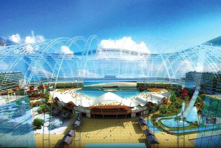 世界最大室内海洋乐园——天堂岛海洋乐园