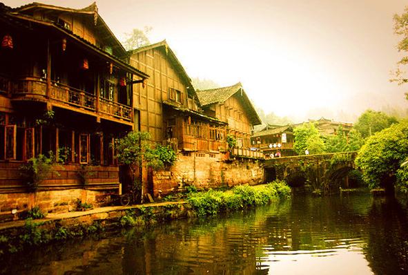 风景 古镇 建筑 旅游 摄影 591_398