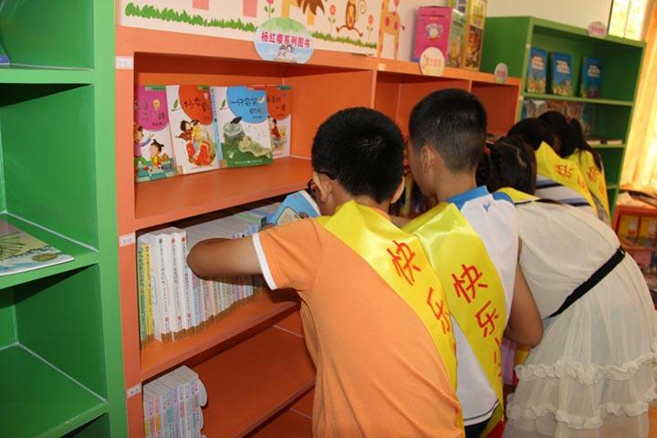 """2015年南山图书馆""""小小图书管理员""""义工队开始"""