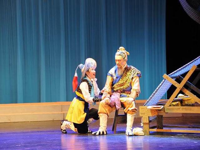 深圳高级中学舞蹈团舞蹈花木兰