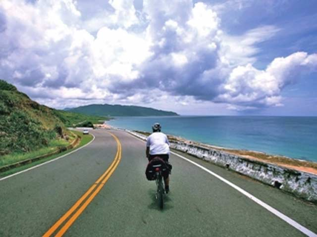 北麂岛环岛骑行