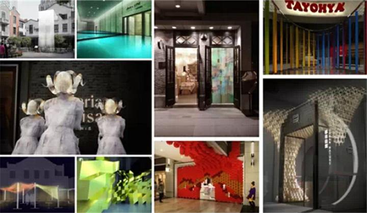年,2014 年的创意橱窗展后,上海新天地再次召集了一帮英国建筑设计师