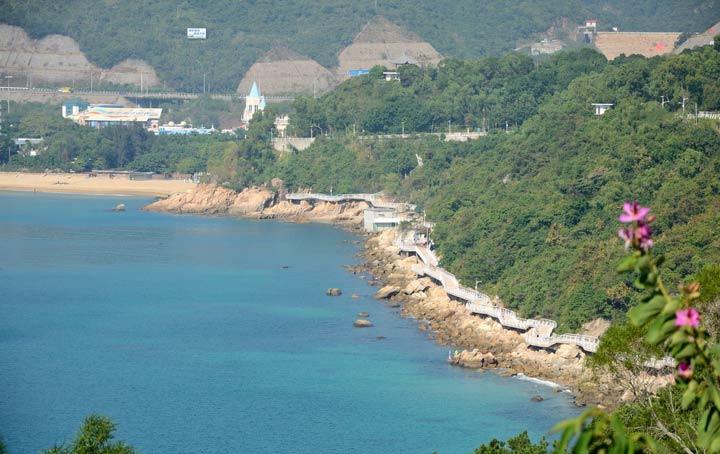 深圳竟然有一条世界最长的海滨栈道