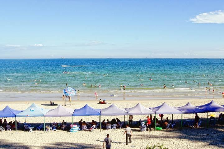 中国最美八大海滩之一 西涌