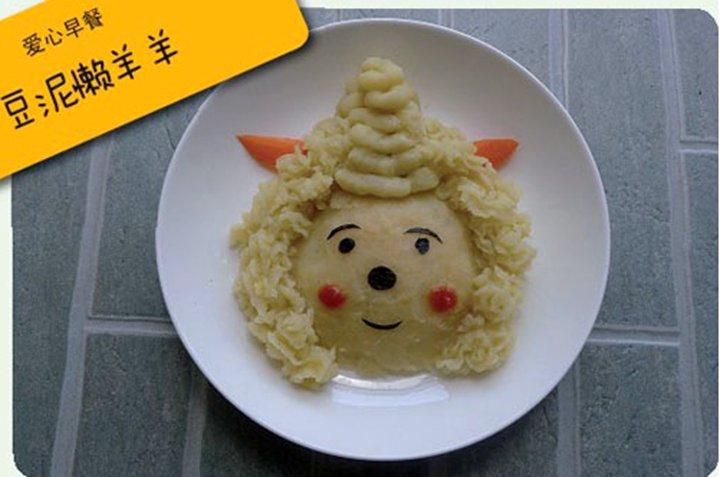 可爱儿童早餐图片大全
