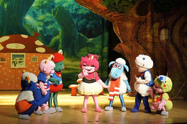 大型智趣卡通舞台剧 狼和七只小羊