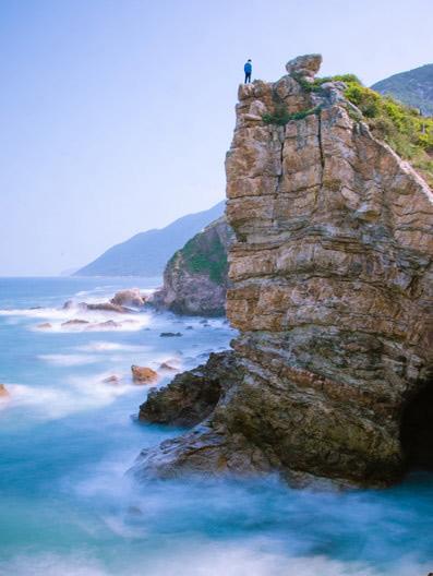 深圳最东,有悬崖餐厅&海边木屋