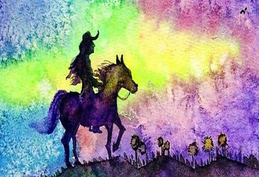 5,【q版人物或者动物的画法】 如何归纳出自己的水彩小品.