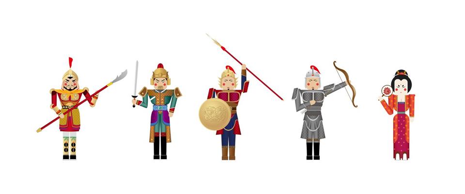 3,丝绸之路系列,以丝绸,金属为元素,衍生更具中国古典风韵的玩物.图片