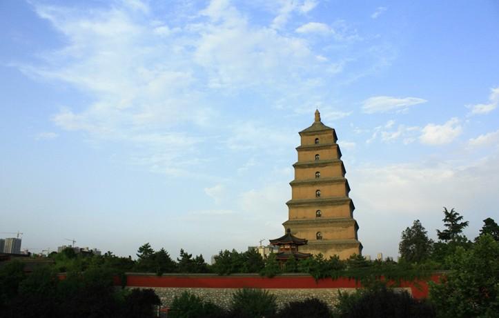 大雁塔是西安市的标志性建筑