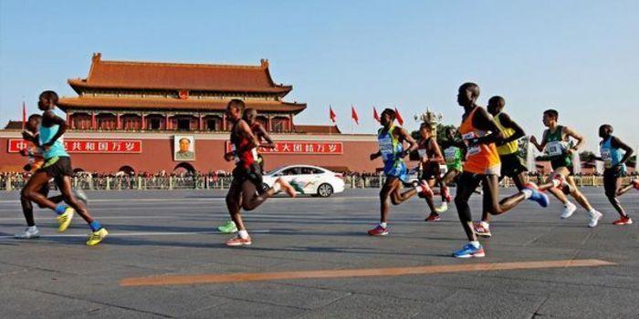 2014北京马拉松图片 2014北京马拉松图片最新图片 乐悠游网图片