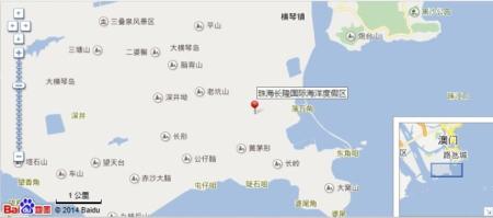 横琴长隆海洋公园地图