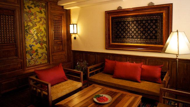 木头主题酒店图片